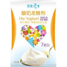 Beneficios probióticos de yogur saludable