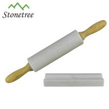 Atacado New White Natural Marble Rolling Pin