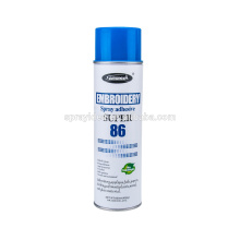 OEM Factory China Aerosol Spray Silicone Glue for Fabric Underwear Embroidery Garment