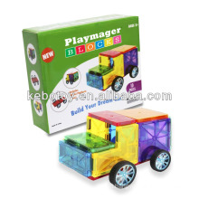 education toy magnetic panel magna tiles 3-D Magnetic Building Tiles building blocks