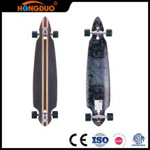 Mini skate de madeira feito sob encomenda requintado de mão para venda