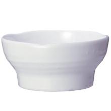 """Vaisselle 100% en mélamine - Cuvette de la série """"Invisible"""" avec couvercle / Vaisselle de qualité supérieure (WTA29)"""