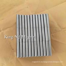 Cilindro fundido AlNiCo5 Magnet (LNG40)