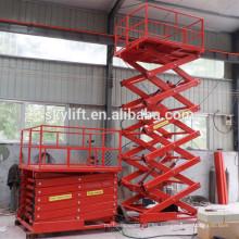 plataforma tijera ascensor 0.3-20 ton