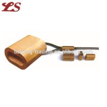 Ferrules en cuivre à chaud pour câble métallique