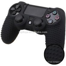 Peau de protection anti-dérapante en silicone pour Sony PlayStation 4 PS4 Pro Slim sans fil