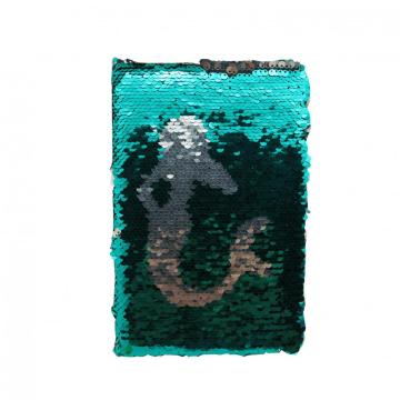 MERMAID SEQUINS NOTEBOOK -0