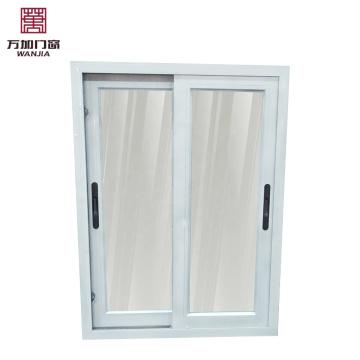 раздвижное окно из двойного стекла из алюминия / глухое внутри двойное стекло / раздвижное окно для приема гостей