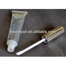 Tube d'emballage transparent Tube brillant à lèvres avec estampage à chaud