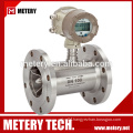 Turbine diesel fuel digital flow meter with 4-20mA