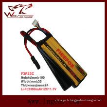 Firefox rechargeable 2300mAh 11.1V batterie Li-polymère de 12C Li-Po