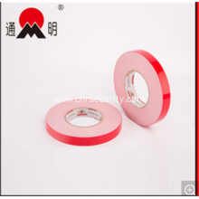 Double Sided Adhesive Pet Red Film Foam Tape