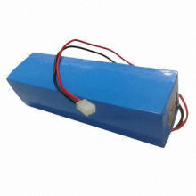 48V 10Ah LiFePO4 Battery for Electric Bikes/E-scooters, with CC and CV Charge Method