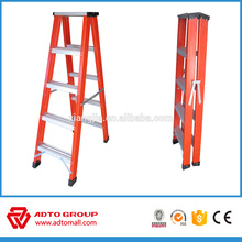 A frame fiberglass ladder,EN131 extension ladder,fire escape ladder