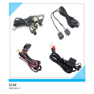 Câble électrique d'antibrouillard de commande numérique par ordinateur, métier léger de voiture, harnais de fil en gros / câble