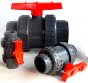 Plastic PVC Union Ball Valve