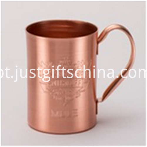 Promotional 420ml Pure Copper Mugs2