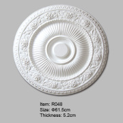 Medalhão de teto com design Rose