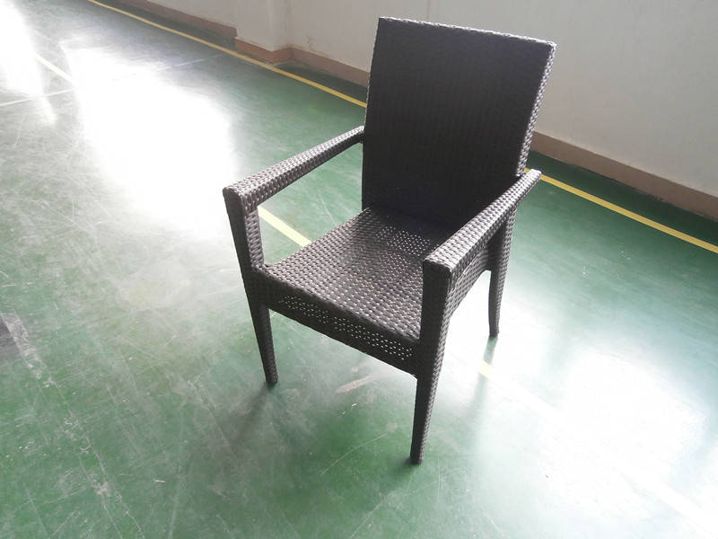 PE Rattan Dining Chair