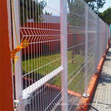 Высокое качество ПВХ покрытием сетка Заборная сварная