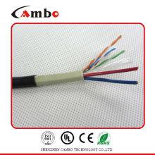 Câble d'alimentation électrique de catégorie 5e 2dc