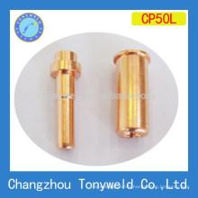 Bouteille de coupe longue durée de plasma d'air de cebora P50 et électrode longue