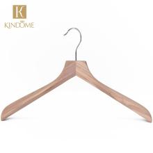 Wholesale natural cedar wood coat hanger