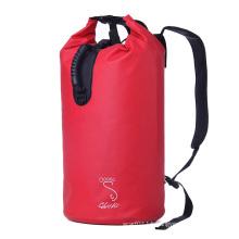 Custom Print Double Backpack Strap 30L Waterproof Dry Bag (YKY7284)