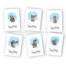 Cute Animals Happy Holidays Cards Collection
