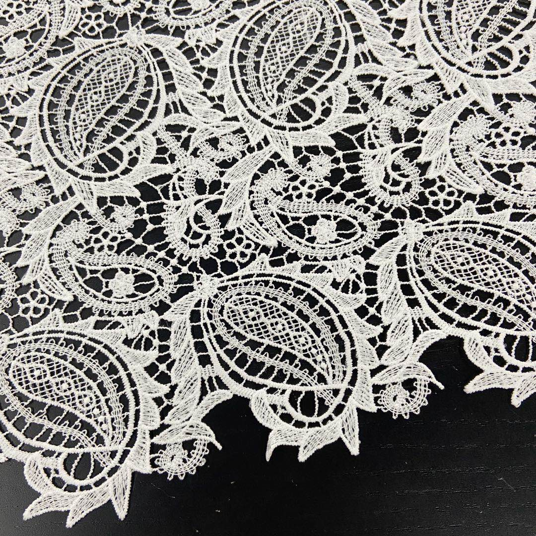 Chemical Lace Embroidery Fabric-4