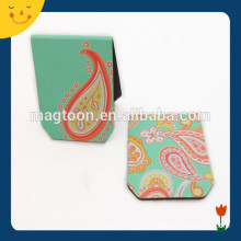 Green color photo printable magnetic paper bookmark