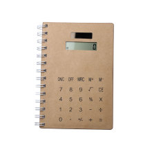 Solar Power 8 Digits Stationery Notebook Calculator