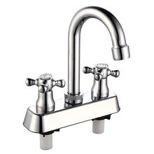 Double Handle 4 Inch South American Style Faucet Mixer