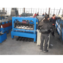 Newest Corrugated Galzed Tile Cold Roll Forming Machine