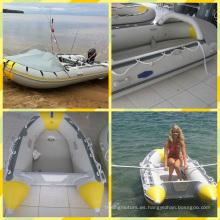 3,6 m baratos barco inflable de PVC para la venta