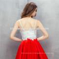 Alixpress горячий продавать мини вечернее платье новая мода спагетти ремень плюс Размер платья невесты