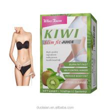 OEM Factory Supply Wholesale kiwi Instant Slim Fruit Powder for Weight control Fat Burn kiwifruit Juice