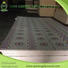 Contreplaqué de recouvrement de papier du marché du Moyen-Orient 1.6-5.0mm pour la décoration