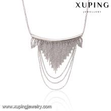 41811-bijoux de mode à la mode 3g femmes élégant collier pompon druzy