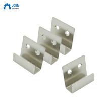 Manufacturer supply metal wall u bracket with metal cabinet shelf support