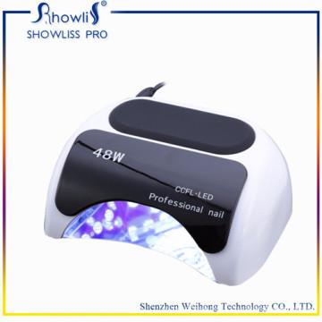 Lampe de clou de puissance de 48W UV et de LED traitant le dessiccateur de main de clou