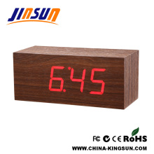 Home Decor Desktop Wood Clock Big Size