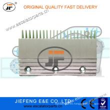 JFThyssen AVANT Escalador Peine Placa Lado Izquierdo L = 191 * W115.5mm, 22T Escalera Placa Comb