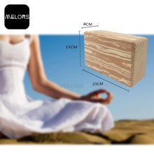 Antideslizante TPE Yoga Mat EVA Foam Blocks