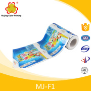 Laminating Colored Plastic Film For Popsicle