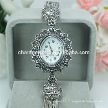 Cheap Wholesale Luxury Quartz alliage montres-bracelets pour femmes B025
