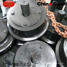 Diâmetro personalizado das rodas de carro 300mm da mina do aço de molde