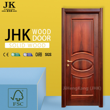 JHK Carved Design Miniature Wooden Half Interior Swinging Door