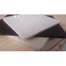 Panneau de PVC de 1.22 * 2.44cm, panneau de mousse de PVC (grand panneau blanc superbe, 2.05 * 3.05m maximum)