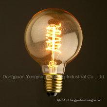 Bulbo de 25W 40W 60W G95 Edison, bulbo de iluminação de 64 âncoras